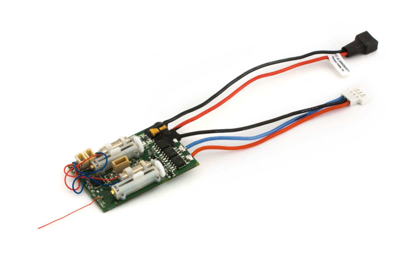 hight resolution of image for dsm2 6 ch ultra micro as3x receiver bl esc from horizonhobby