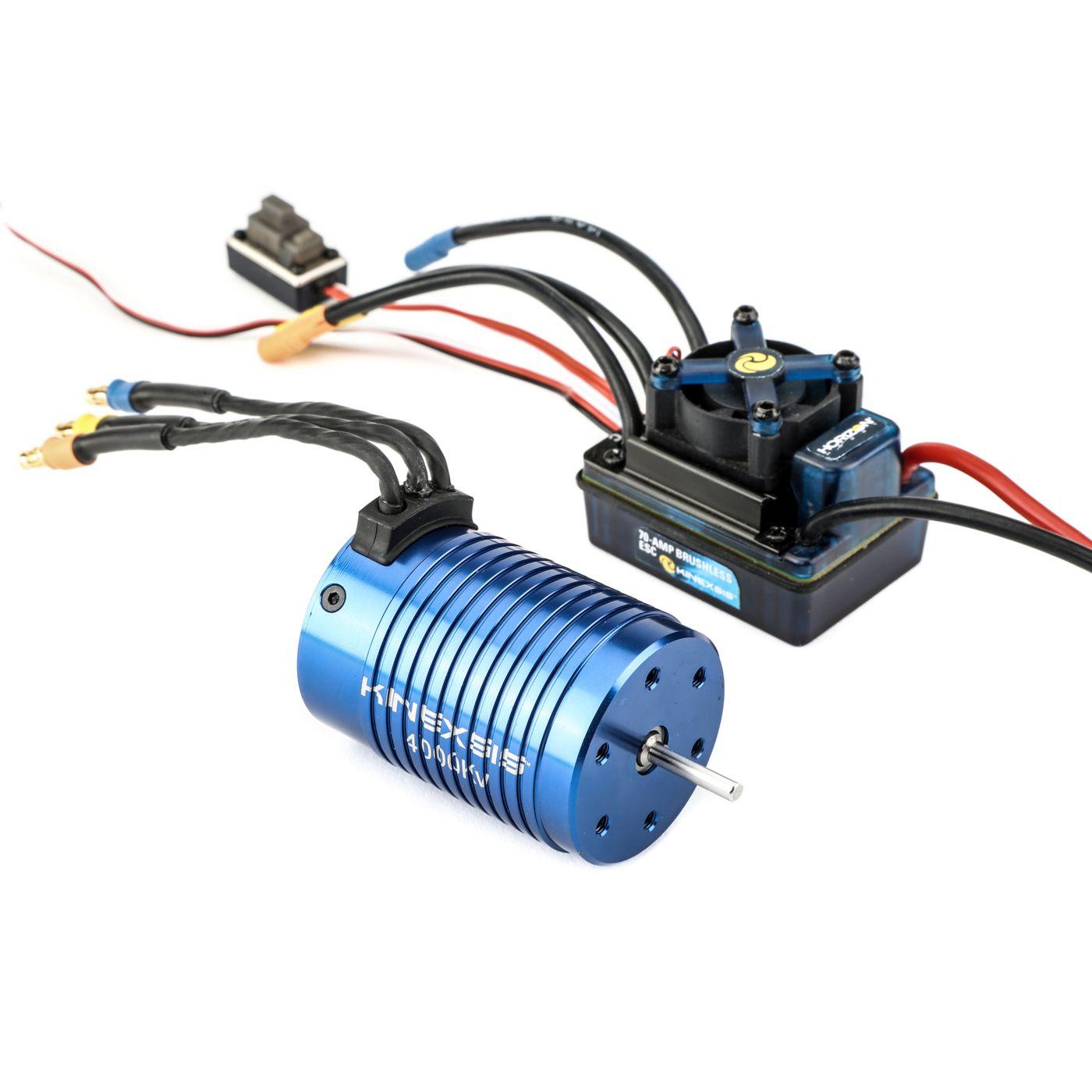 1 10 4 pole 4000kv esc motor combo horizonhobby north american edition electrical wiring harness with eicv escv [ 1400 x 1400 Pixel ]