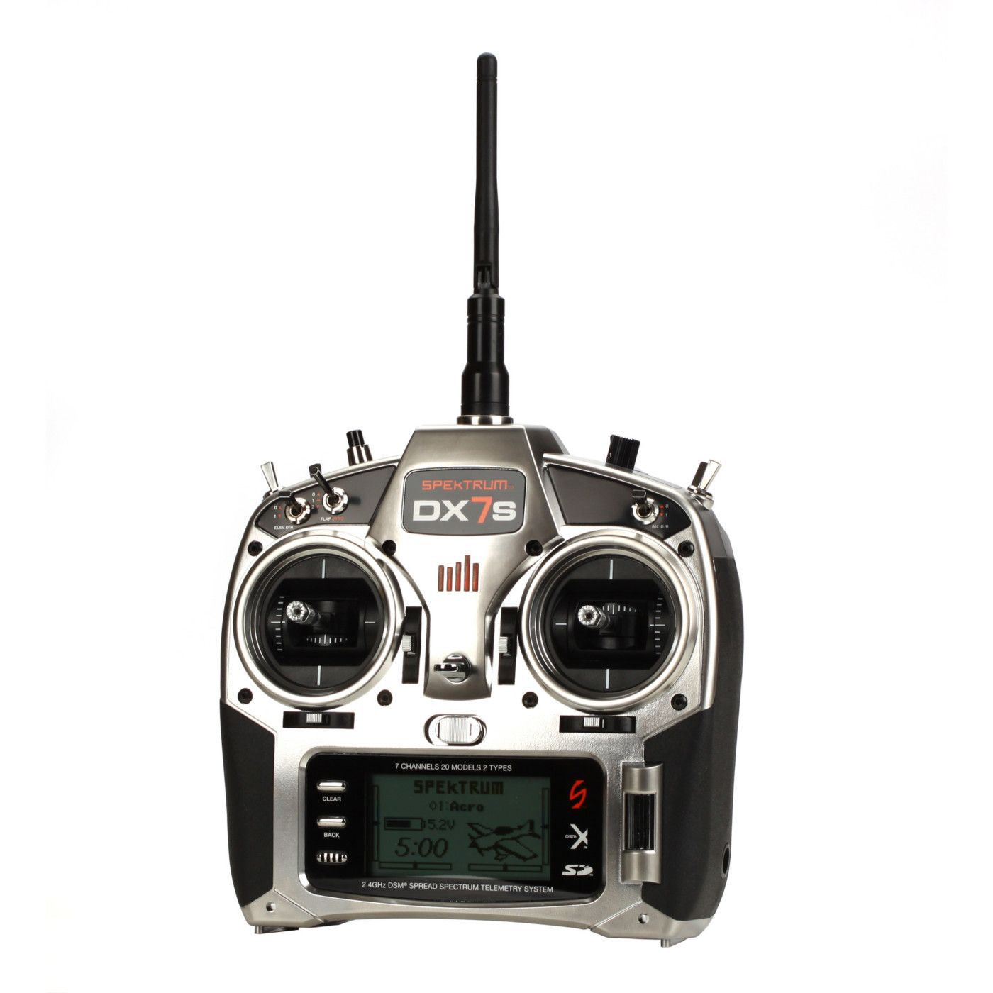 medium resolution of image for dx7s 7 channel dsmx transmitter with ar8000 receiver mode 2 from