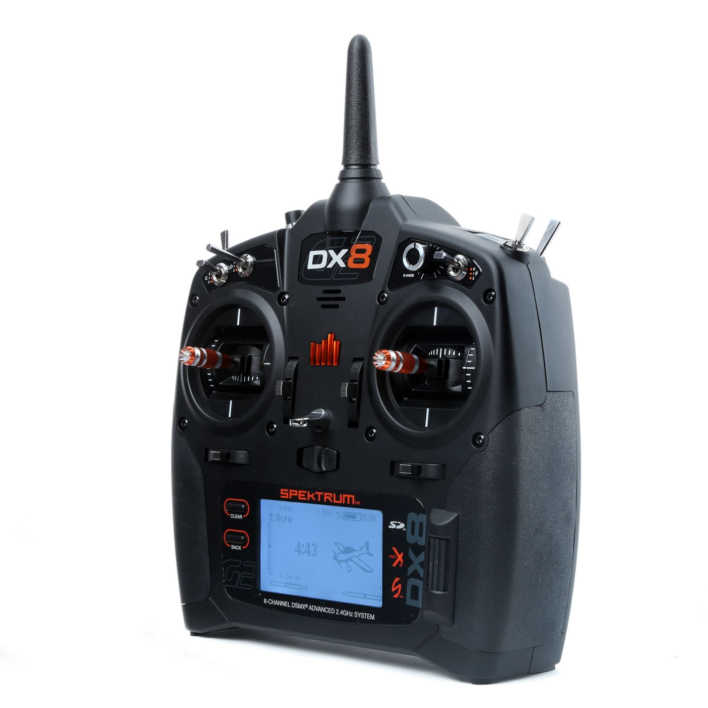 hight resolution of  dx8 8 channel dsmx transmitter gen 2 with ar8000