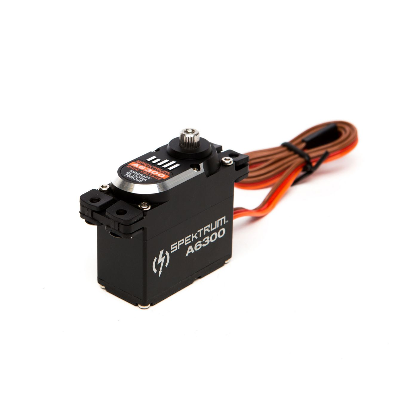 image for a6300 hv ultra torque brushless aircraft servo mg from horizonhobby [ 1400 x 778 Pixel ]