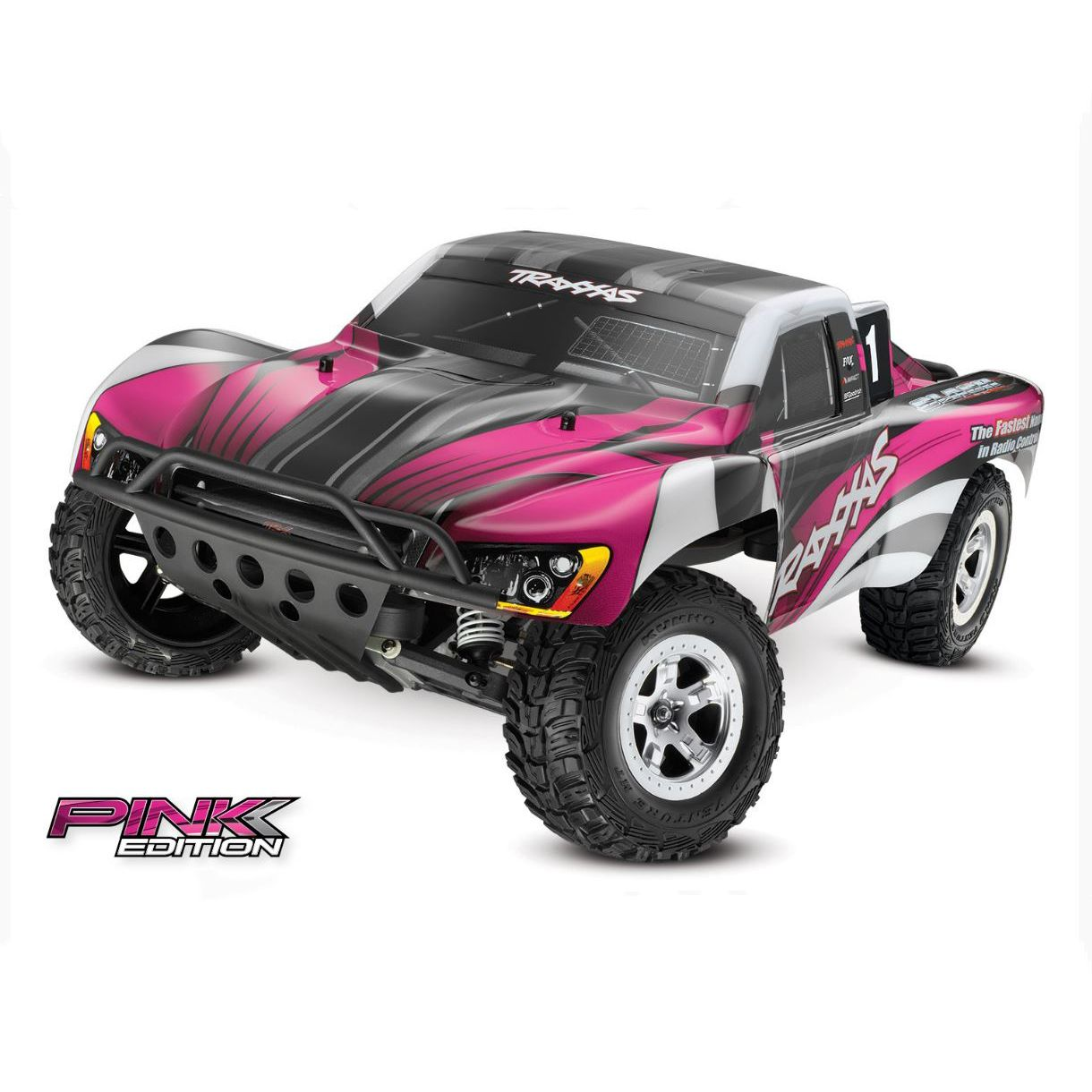 image for 1 10 slash 2wd sct brushed rtr pink edition from horizonhobby [ 1400 x 778 Pixel ]
