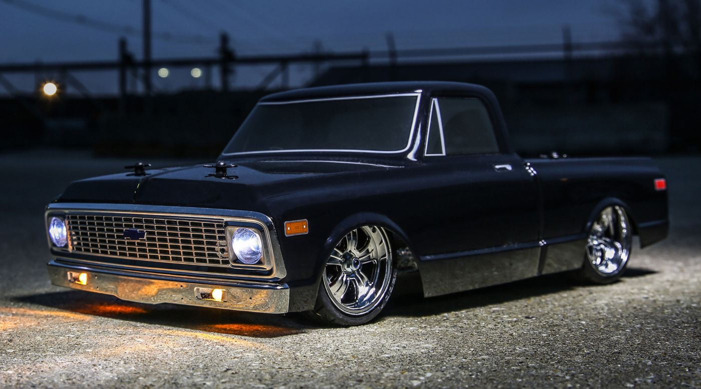 image for 1 10 1972 chevy c10 pickup truck v 100 s 4wd brushed [ 1400 x 778 Pixel ]