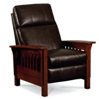 Mission Recliner Leather. Mission High Leg Recliner ...