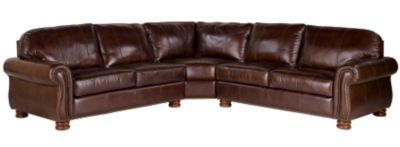 thomasville benjamin sofa cream sectional bed sofas in fabric & leather sectionals ...