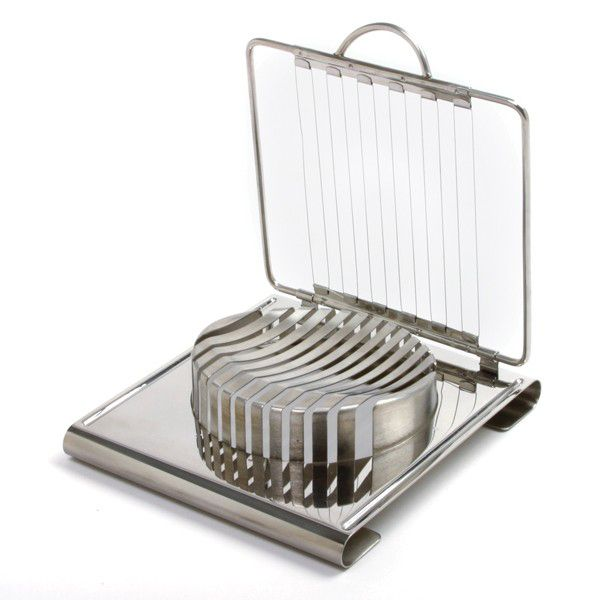 """Norpro 341 Stainless Steel 6"""" X 6-3 4"""" Soft Cheese Slicer"""