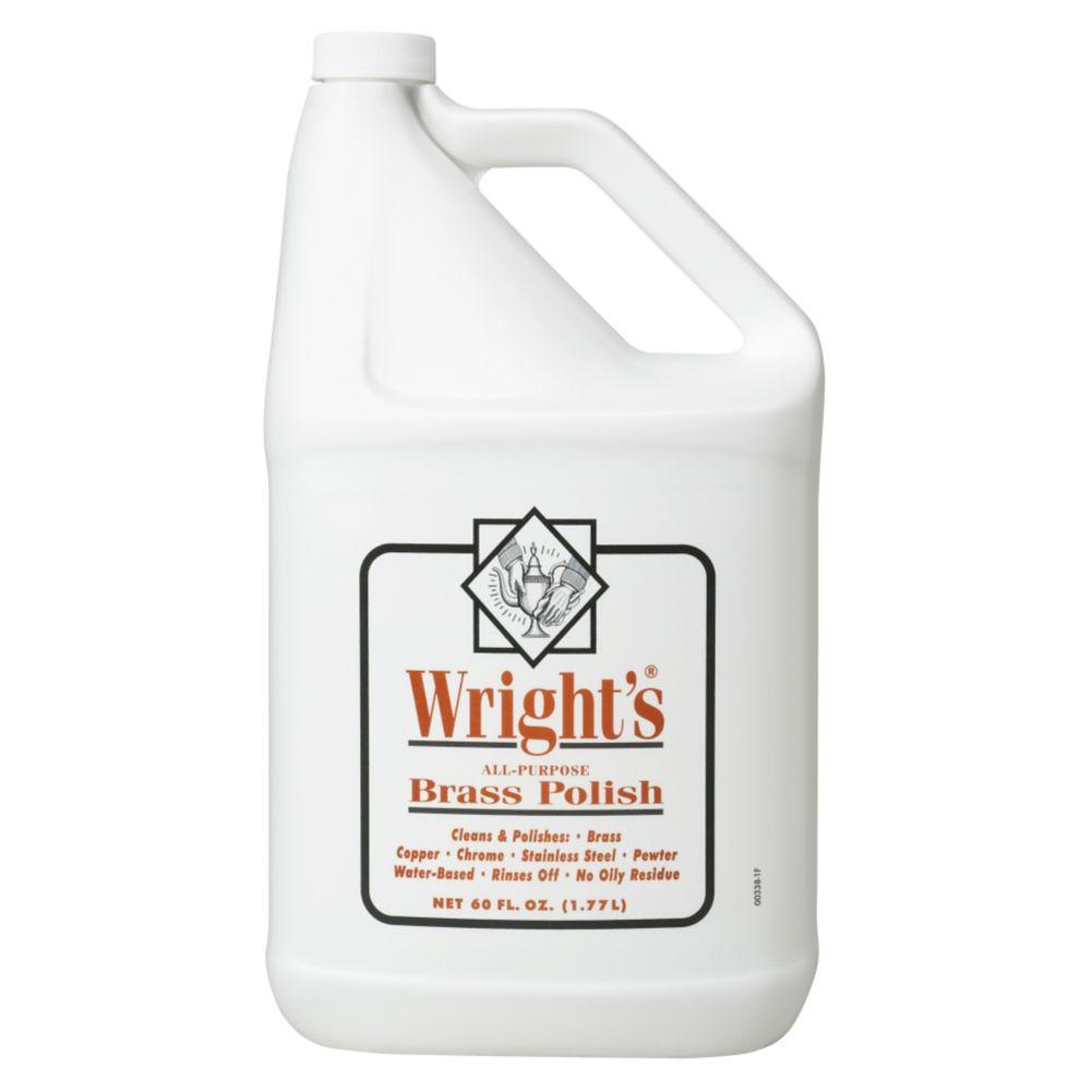 Wright39s 1112100338 60 oz Liquid Brass Polish 4 CS