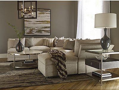 bedroom and living room sets tan gray thomasville furniture classic wood upholstered