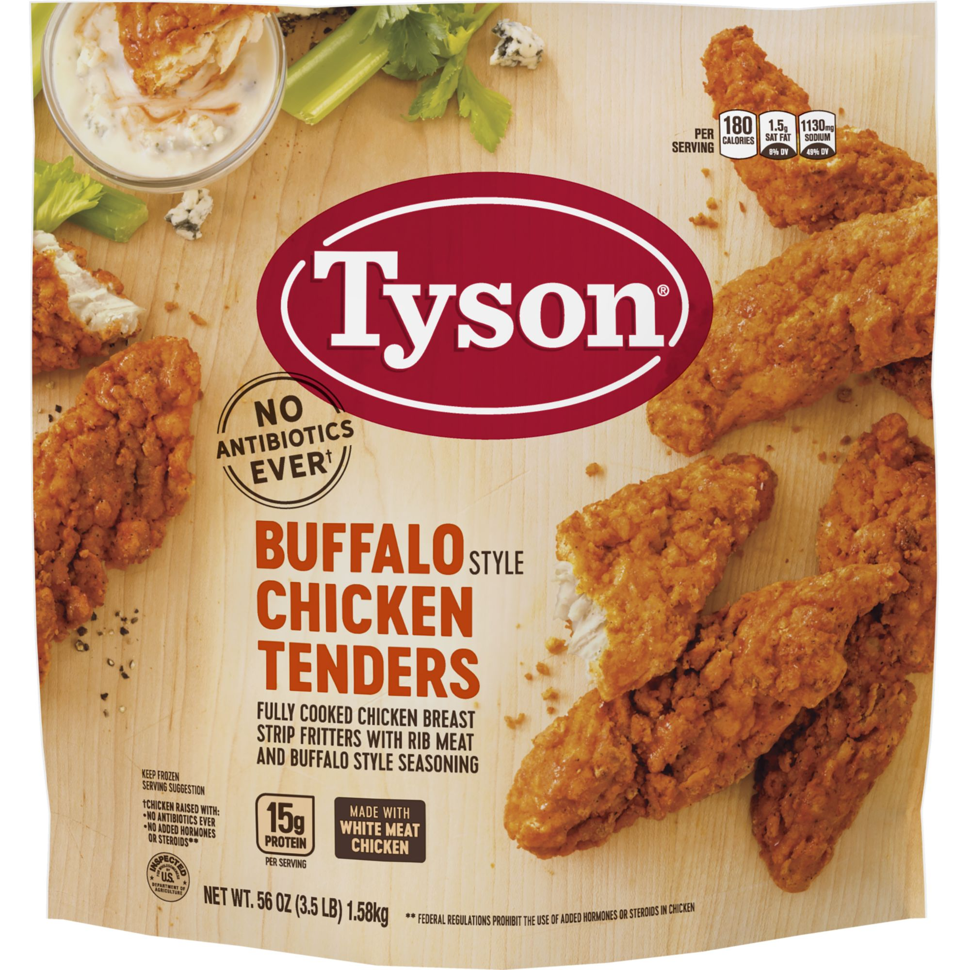 tyson frozen fully cooked