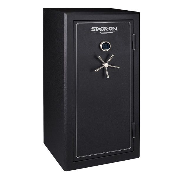 Stack On Fire Resistant 40 Gun Safe With Electronic Lock Black