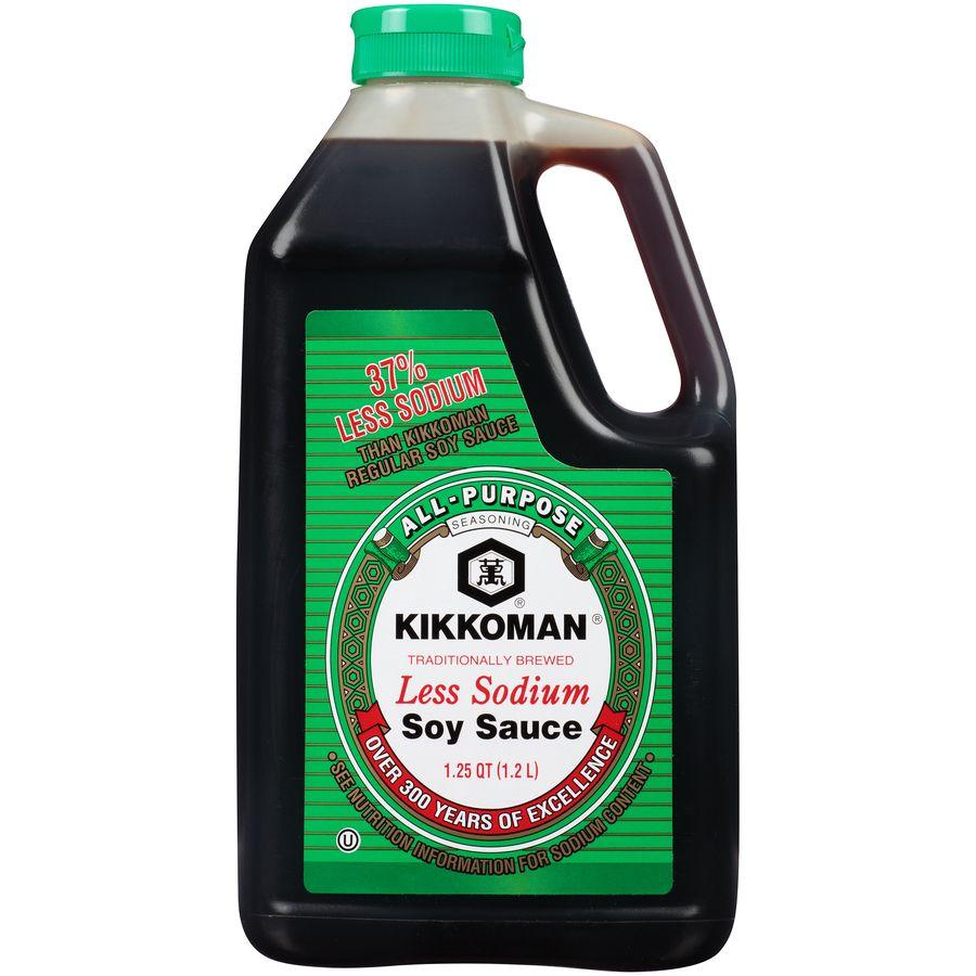 kikkoman naturally brewed less