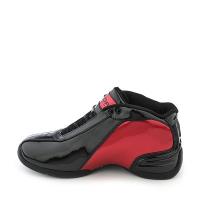 Dada Supreme mens Dada CDubbz black red basketball sneaker   Shiekh Shoes