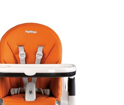 Peg Perego High Chair Siesta Peg Perego Siesta High Chair In Arancia Orange Buybuy Baby
