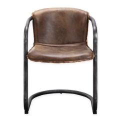 Leather Chair Pads Covers For Hire Wolverhampton Buy Bed Bath Beyond Moe S Home Collection Benedict Dining Arm Chairs In Brown Set Of 2