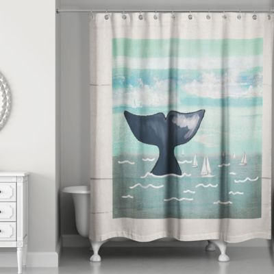 Buy Whale Shower Curtain From Bed Bath & Beyond