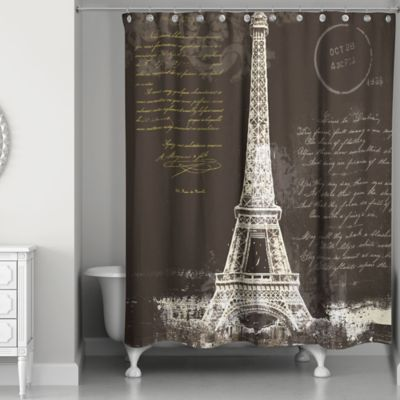 Buy Paris Shower Curtain From Bed Bath & Beyond