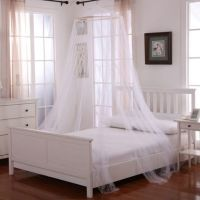 Oasis Round Hoop Sheer Bed Canopy - Bed Bath & Beyond