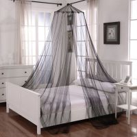 Buy Oasis Round Hoop Sheer Bed Canopy in White from Bed ...