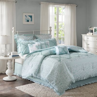 Buy White Ruffle Comforter From Bed Bath Amp Beyond