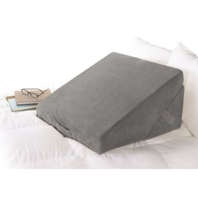 Brookstone 4in1 Bed Wedge Pillow Bed Bath  Beyond