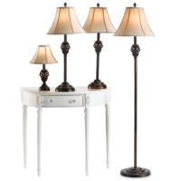Bronze and Gold 4-Piece Lamp Set - Bed Bath & Beyond