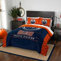 NHL Edmonton Oilers Draft Comforter Set