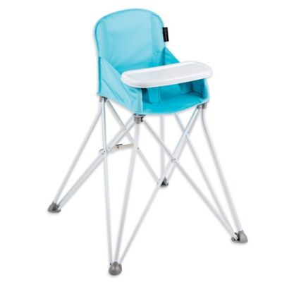 summer high chair dining chairs target infant buybuy baby pop n sit portable in aqua