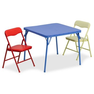 toddler table and chair set eastern butcher block chairs buy kid sets bed bath beyond flash furniture kids colorful 3 piece folding