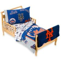 New York Mets 4-Piece Toddler Bedding and Blanket by The ...