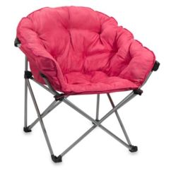 Dorm Chairs Bed Bath And Beyond Training Room Buy Folding Club Chair In Pink From &