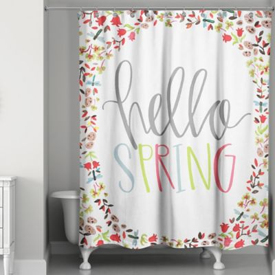 Buy Spring Fabric Shower Curtain From Bed Bath & Beyond
