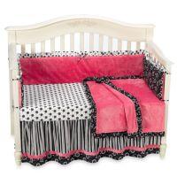 Kathy Ireland Home Madison Girl 4-Piece Crib Bedding Set ...