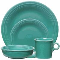 Fiesta Dinnerware Collection in Turquoise - Bed Bath & Beyond