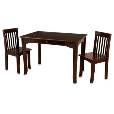 KidKraft Avalon Table  Chair Set in Espresso  buybuy BABY