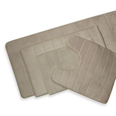 bed bath and beyond kitchen mat microfibres rug microdry® ultimate performance the original memory foam ...