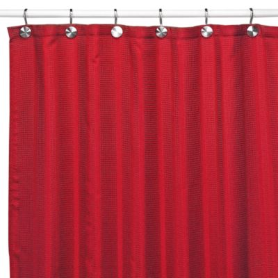 Buy Red Curtains Showers from Bed Bath  Beyond