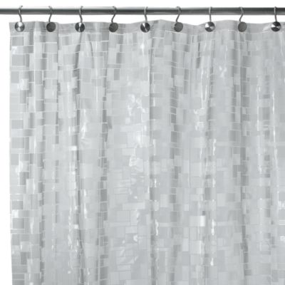 Clear Plastic Shower Curtain