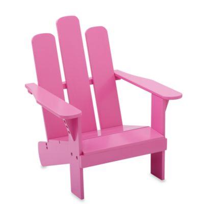 Childs Adirondack Chair  Pink  buybuy BABY