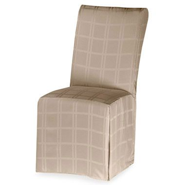 chair seat covers table and 10 chairs buy dining bed bath beyond origins microfiber room cover in beige
