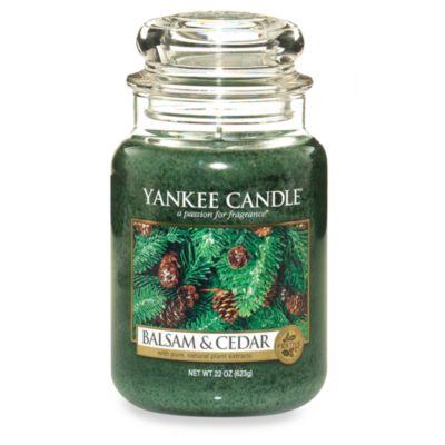 Yankee Candle Housewarmer Balsam And Cedar Candles
