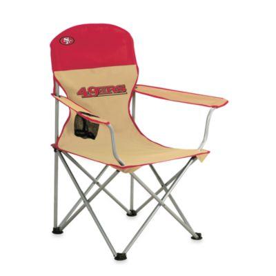 NFL San Francisco 49ers Folding Chair  Bed Bath  Beyond
