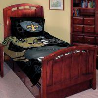NFL New Orleans Saints Twin/Full Comforter Set - Bed Bath ...