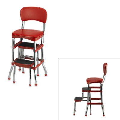 Cosco Retro ChairStep Stool in Red  www