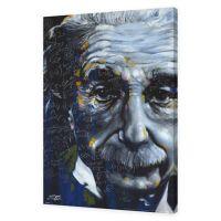 Einstein It's All Relative 24-Inch x 36-Inch Canvas Wall ...