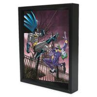 DC Comics Joker vs. Batman Framed 3D Lenticular Shadowbox ...
