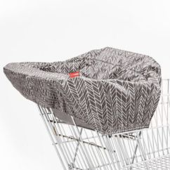 Padded High Chair Patio Glider Chairs Canada Buy Covers Bed Bath Beyond Skip Hop Feather Take Cover Shopping Cart And In Grey