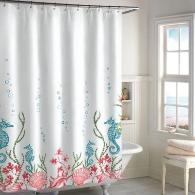 Destinations Seahorse Panel Shower Curtain Bed Bath Amp Beyond