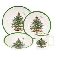 Spode Christmas Tree 16-Piece Dinnerware Set - Bed Bath ...