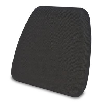 chair pad foam design back angle buy memory bed bath beyond therapedic gel infused in black