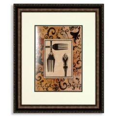 Kitchen Wall Art Cool Islands Buy Bed Bath Beyond Forks